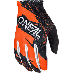 ONeal Matrix Gloves BURNOUT orange/black